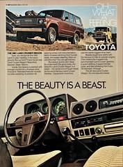 1981 Toyota Land Cruiser Wagon & Hardtop