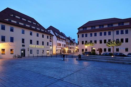 Schlossplatz in Freiberg