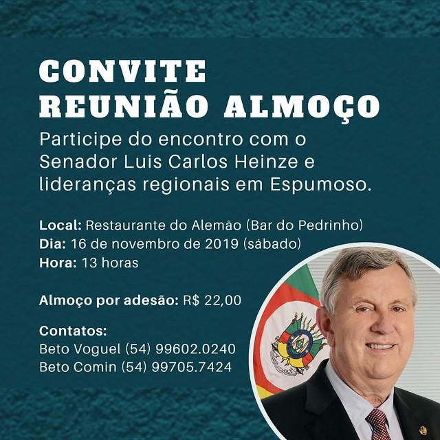 16/11/2019 Reunião Regional Progressistas em Espumoso