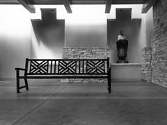 mono bench at Sandia Casino