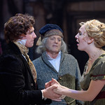 L-r: Tim Howard (Young Scrooge), Larry Cahn (Scrooge), and  Seles VanHuss (Emily) - Matt Gale Photography 2019