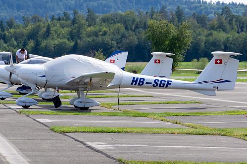 Fliegerschule Birrfeld HOAC DV20 HB-SGF