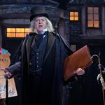 Larry Cahn (Ebenezer Scrooge) with Zayaz Da Camara (L - Ghost of Christmas Present) and Megan Van De Hey (R - Ghost of Christmas Past) - Matt Gale Photography 2019