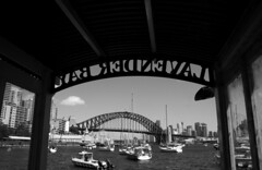 19SHDP082-178 - Sydney - Lavender Bay ( Grayscale)