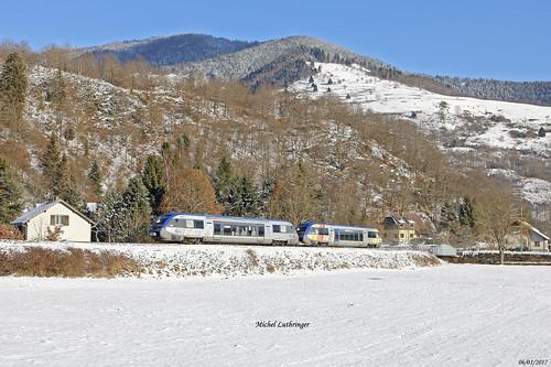 UM X73521-X73910 TER 832770 Mulhouse-Kruth à Oderen