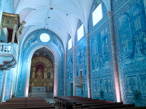 The azulejos-lined Igreja de Sao Joao