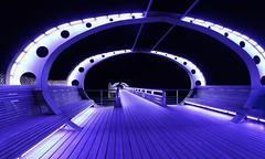 Kellenhusen Pier blue