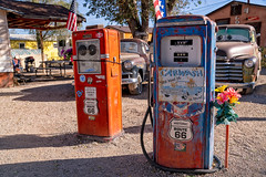 Classic Leaded Gas Pumps