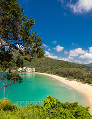 Nai Harn beach and The Nau Harn resort, Phuket island, Thailand