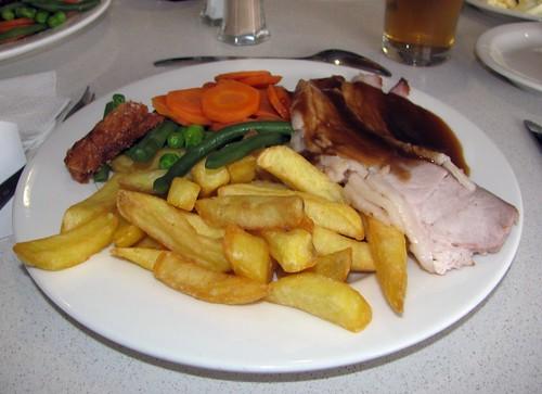 Roast Pork, Orange Ex Servicemans Club, Orange, NSW.
