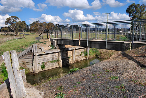 Eight Mile Swamp Creek Footbridge, O'Connell, NSW.