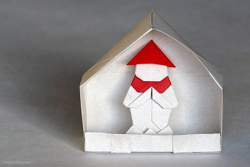 Origami Jizo (Kunihiko Kasahara)