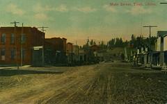 Main Street, circa 1910 - Troy, Idaho