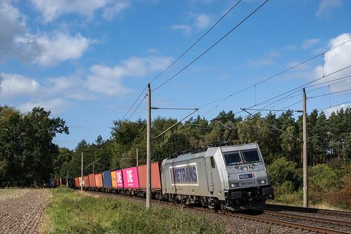 Muessen Feldweg Metrans 386 034-3 Container