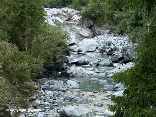 Gelgia River, Tiefencastel, Canton of Grisons, Switzerland