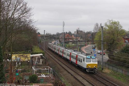 NMBS 820 - Sint Mariaburg (B) 15-03-2019.