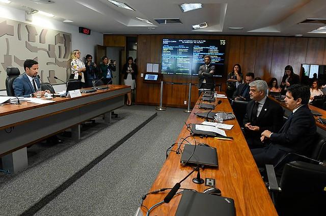 Após leitura do parecer, não houve indicações de oposição ao PLC 34  - Créditos: Roque de Sá/Agência Senado