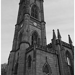 St Luke's Church, commonly known as The bombed-out church