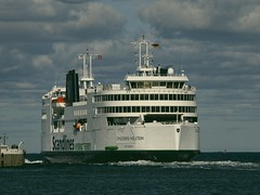 The ferry Schleswig Holstein from Stenalines in Puttgarden | 8. September 2015 | Fehmarn - Schleswig-Holstein - Deutschland