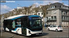 Heuliez Bus GX 337 Linium Électrique – RD Lorient Agglomération (RATP Dev)  / CTRL (Compagnie de Transport de la Région Lorientaise)