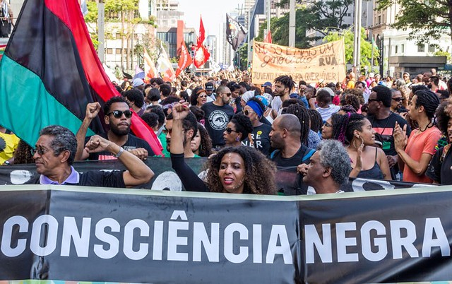 """""""Este pacote visa aprofundar um processo de morte vigente no nosso país"""", afirma militante do movimento negro - Créditos: Foto: Rede Brasil Atual"""