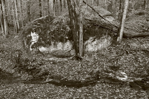 Large Boulder and Small Creek