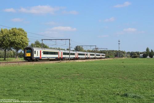 NMBS 462 & 490 - Destelbergen (B) 18-09-2018.