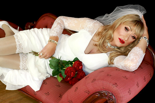 Lisah's dreaming of a white wedding...