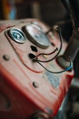Broken commands on tractor dashboard