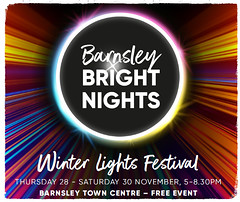 BARNSLEY BRIGHT NIGHTS COUNTDOWN TO CHRISTMAS 2019