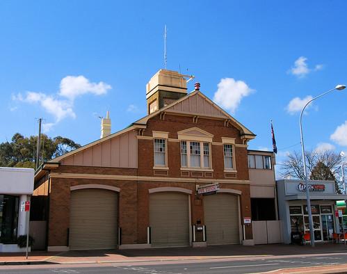 Fire Station, Orange, NSW.