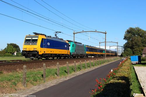NS 186 111 & NMBS 2835 - Roosendaal 05-10-2016