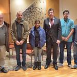 20-11-2019 Reunió amb Vicent Mauri ( Intersindical Valenciana) amb Salvador Zuñiga Càceres i Rosalina Domínguez.