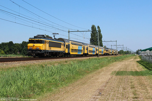 NS 1766 & DDAR 7314 + 1762 & DDAR 7373 - Prinsenbeek 10-07-2015.