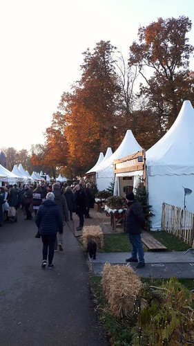 Christmas fair at castle and in the parc of Haarzuilen