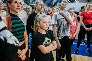 Nika Kljun (LA, USA) Workshop @ Kalevi Spordihall (Tallinn), March 21st, 2019