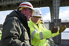 Assistant secretary of the Army for Civil Works visits project, engages workforce