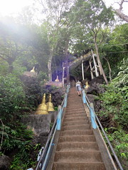 Tiger Cave Mountain Temple steps