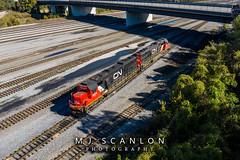 CN 5414 CN 5477 | EMD SD60  CN Harrison Yard