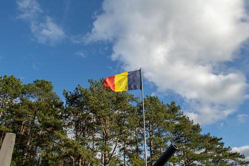 Bandiera e cielo
