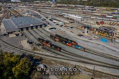 GTW 4620 | EMD GP9R | CN Harrison Yard