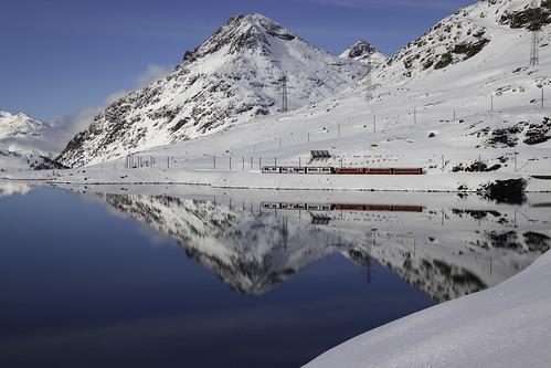 Trenino Rosso - Lago Bianco - Grigioni - Svizzera