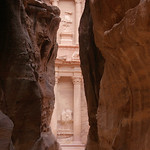 Entering the lost city of Petra by Bill Wastell