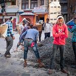 Rebuilding Nepal.