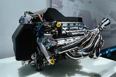 2004 – BMW P84/5 V10 Formula 1 engine on display in Museum