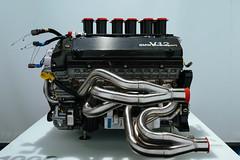 1999 BMW P75 V12 Le Mans engine – side view