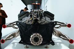 1999 BMW P75 V12 Le Mans engine – back view