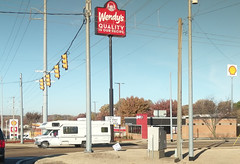 Meanwhile, Horn Lake Wendy's loses it's big original road sign face