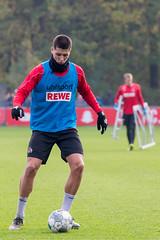 Sava Cestic, Jugendspieler des 1.FC Köln war unter Markus Gisdol im Training der Profis mit dabei