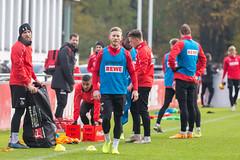 Florian Kainz zurück im Training nach Verletzungspause volle Konzentration